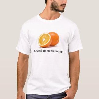 Camiseta Meios naranja. da Turquia do está de Aquí