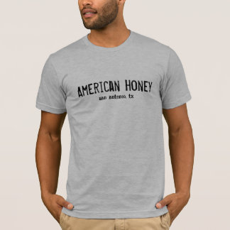 Camiseta Mel americano, San Antonio, tx