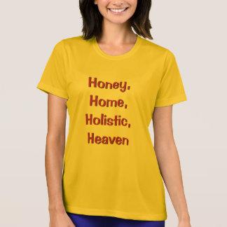 Camiseta Mel, casa, holística, t-shirt do céu