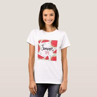 Camiseta Melancia das horas de verão