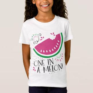 Camiseta Melancia uma em um t-shirt do melão