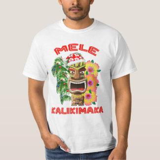Camiseta Mele Kalikimaka Papai Noel Tiki