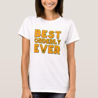 Camiseta Melhor assistente hospitalar nunca