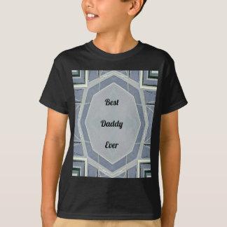 """Camiseta """"Melhor pai cinzento moderno anca nunca """""""