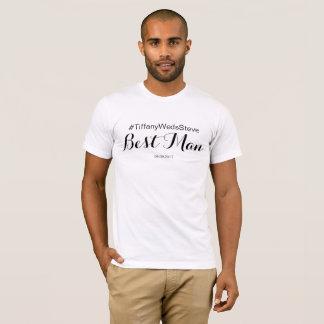 Camiseta Melhor t-shirt personalizado do homem do grupo