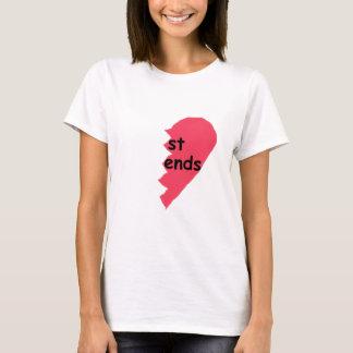 Camiseta Melhores amigos das EXTREMIDADES da RUA meios