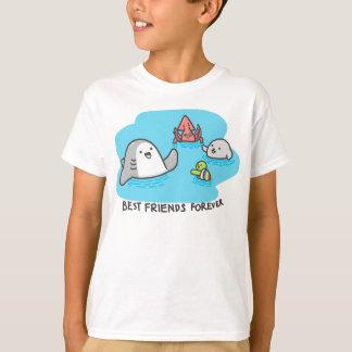 Camiseta Melhores amigos para sempre!