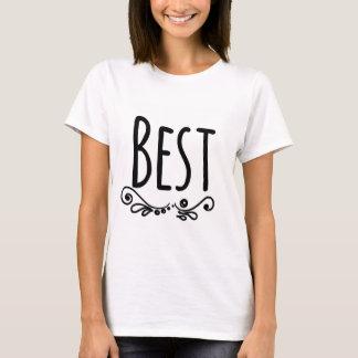 Camiseta Melhores amigos que combinam a parte 1 dos t-shirt