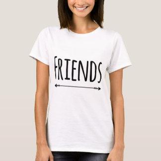 Camiseta Melhores amigos que combinam a parte 2 dos t-shirt
