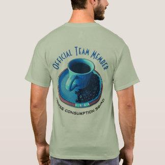 Camiseta Membro da equipa oficial do pelotão | do consumo