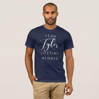 Camiseta Membro da vida de Tyler da equipe