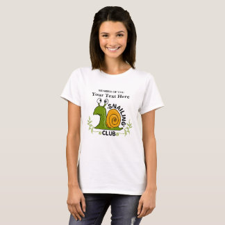 Camiseta Membro de clube de Snailing
