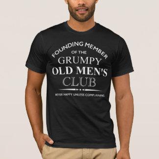Camiseta Membro fundador do clube dos anciões mal-humorados
