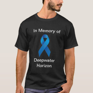 Camiseta Memória do horizonte da água profunda