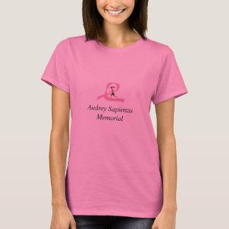 Camiseta Memorial de Audrey Sapienza