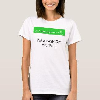Camiseta menina 150 do logotipo, ` M de I UMA VÍTIMA da