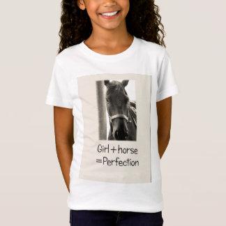 Camiseta Menina + Cavalo = t-shirt da perfeição