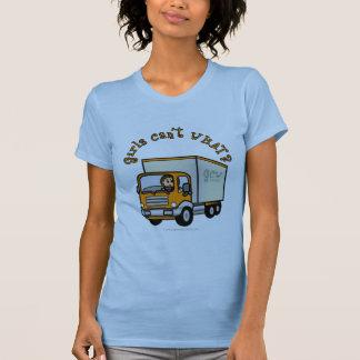 Camiseta Menina clara do camionista