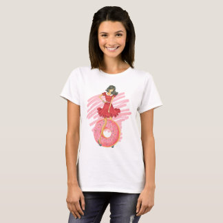 Camiseta Menina com filhós