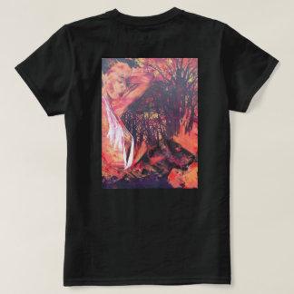 Camiseta menina com uma pantera