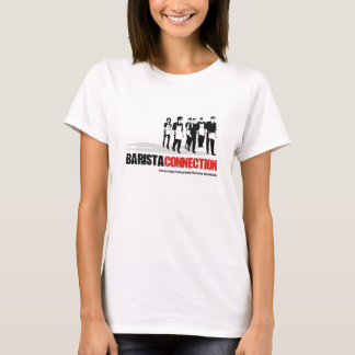 Camiseta Menina da conexão de Barista