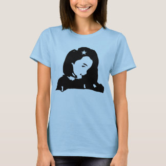 Camiseta Menina da estrela