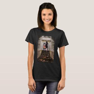 Camiseta menina da guitarra
