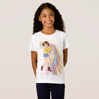 Camiseta Menina da música