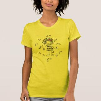Camiseta Menina da música!