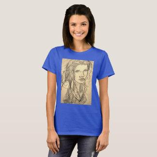 Camiseta Menina da praia