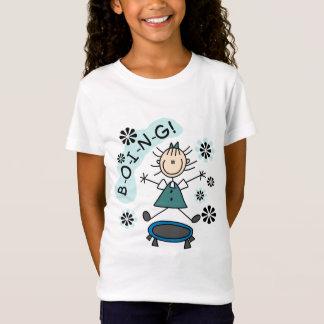Camiseta Menina da vara em t-shirt e em presentes do