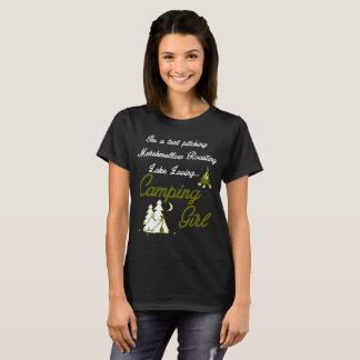 Camiseta Menina de acampamento