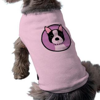 Camiseta Menina de Boston! Roxo