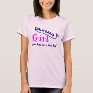 Camiseta Menina de Califórnia