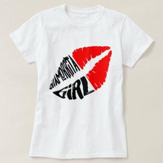 Camiseta Menina de Chamorrita (lábios quentes)