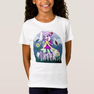 Camiseta Menina de coelhinho da Páscoa bonito - t-shirt da