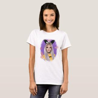 Camiseta Menina de coelho