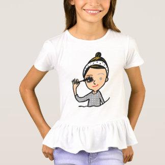 Camiseta menina de composição