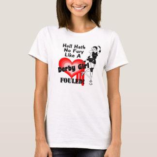 Camiseta Menina de Derby sujada