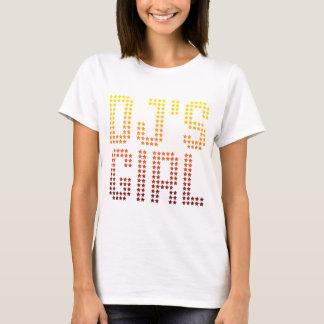 Camiseta Menina de DJs - música de DJing da esposa do