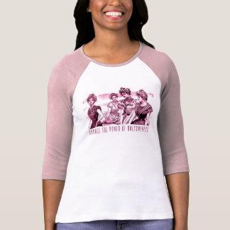 """Camiseta Menina de Gibson """"poder de Awesomeness """""""