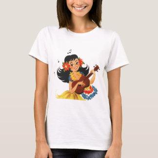 Camiseta Menina de Hula Hula