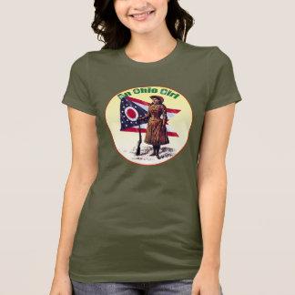 Camiseta Menina de Ohio, Annie Oakley