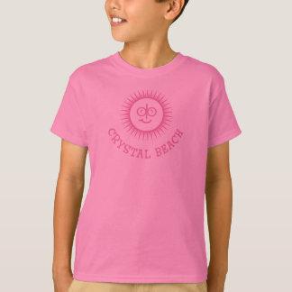 Camiseta Menina de Sun do verão