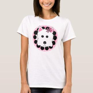 Camiseta Menina de Westie