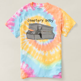 Camiseta menina do caixão