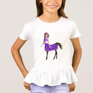 Camiseta Menina do cavalo