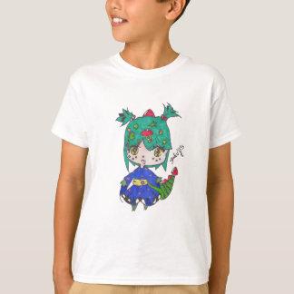 Camiseta menina do dragão editada