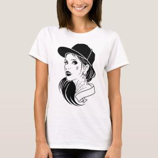 Camiseta Menina do gângster