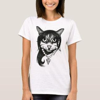 Camiseta Menina do gato